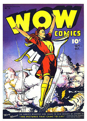 WOW COMICS Vol.7 No. 38  -  Facsimile Comic