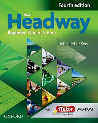 Oxford NEW HEADWAY Beginner FOURTH EDITION Student's Book w iTutor DVD-ROM @NEW@