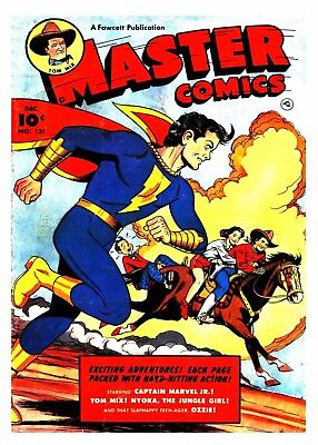 MASTER COMICS No. 131  -  Facsimile Comic