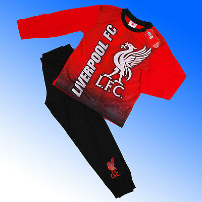 Boys Authentic Official Liverpool FC #LFC AOP Pyjamas Age 4-12 Years