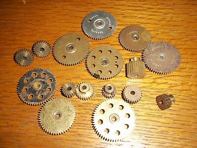 Meccano Job Lot Gears pack of 16