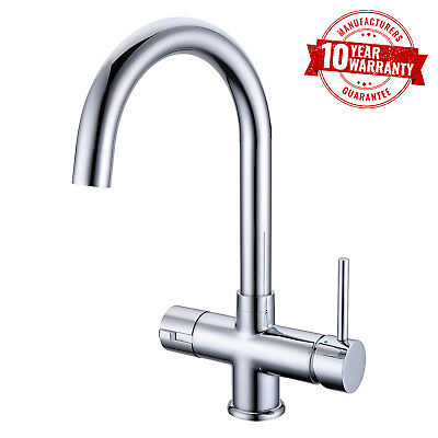 Luxury Instant Hot / Boiling Water Kitchen Tap with Chrome Finish Single Lever
