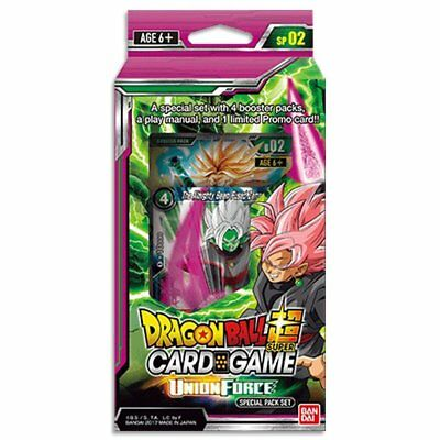 Dragon Ball Super TCG Special Pack Union Force w/ 4 Boosters