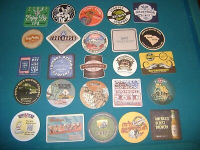 25 Micro Brewery Coasters Lot 24