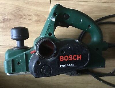 BOSCH PHO 20-82 Corded Planer 680w And Dust Bag