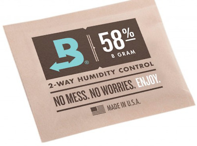 Boveda 58% RH 8 gram Humidipak - 3 Pack - 2-way Humidity Control (8g) New