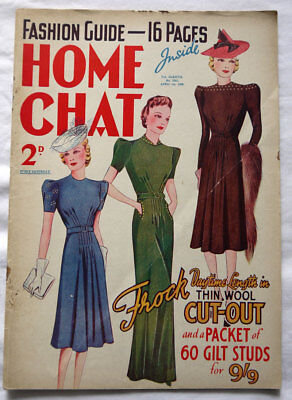 Home Chat April 1st 1939