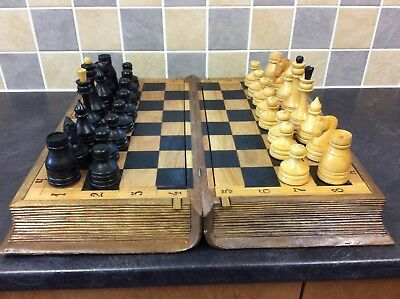 lovely wooden carved Chess Set