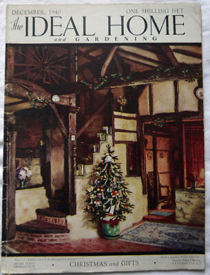 Ideal Home Magazine December 1940