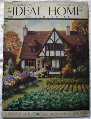 Ideal Home Magazine October 1940