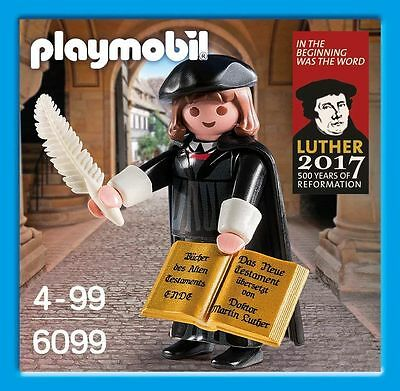 Brand New Playmobil 6099 16th century Protestant reformer Martin Luther - Rare