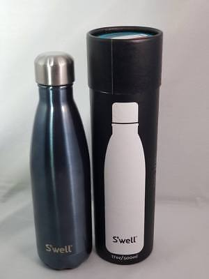 36b074c5c3 S'well Insulated Stainless Steel Water Bottle - 17 oz Blue Suede Shimmer