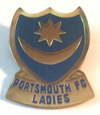 A Nice Portsmouth Fc Ladies Acrylic Badge.