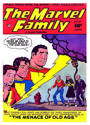 MARVEL FAMILY No. 69  -  Facsimile Comic