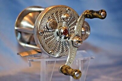 Beautiful Old Vintage Fishing Rod Reel Early Pflueger Summit Collectible Lure