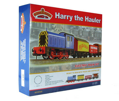 "Bachmann 00 Gauge Train Set ""Harry The Hauler"" never used more than twice"