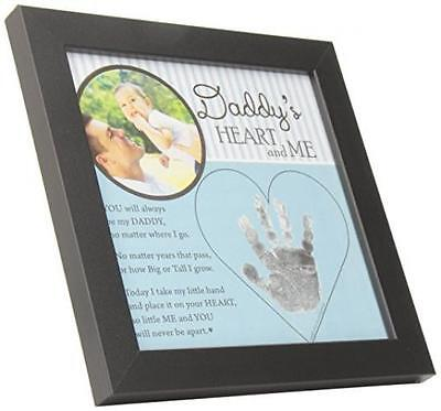 BABY CHILD KEEPSAKE Handprint Frame with Poetry - Mommy, Daddy ...