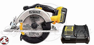 "New DeWALT DCS391 20V MAX 5.0 Ah Lithium-Ion 6-1/2"" Cordless Circular Saw Kit"