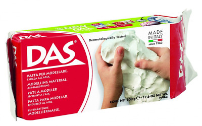 Das Modelling Clay Air-dry No Baking Self Modelling Terracotta White 500g Or 1kg
