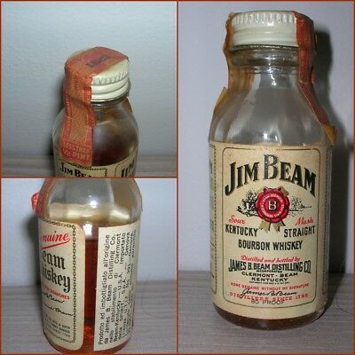 ANTICA MINIATURA COLLECTION WHISKY JIM BEAM cc.29,5 gr.40