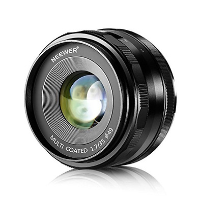 NW-E-35-1.7 35mm f/1.7 Manual Focus Prime Fixed Lens for SONY