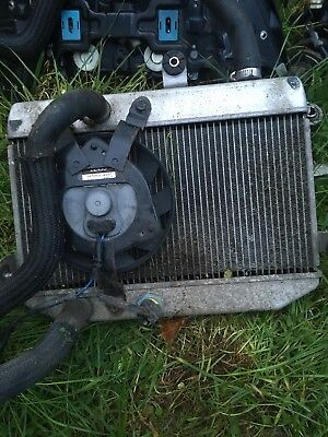 Suzuki Burgman 400 2007/2011 Radiator And Fan