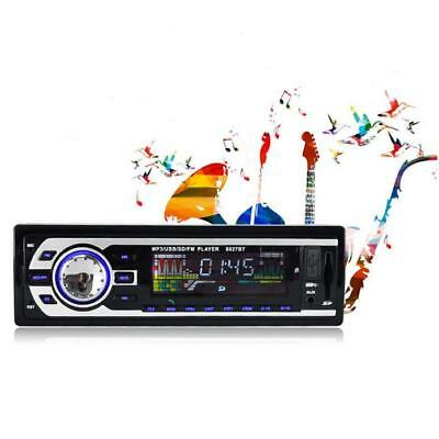 Bluetooth Car Stereo 1 DIN In-Dash FM Aux Input Receiver SD USB MP3 Player 8027B