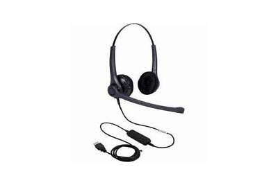 ADDCOM Entry Level Lync compatible Duo headset. Comfortable gets the job done