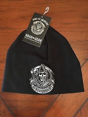 Sons Of Anarchy Prospect Authentic Black Beanie Hat Cap