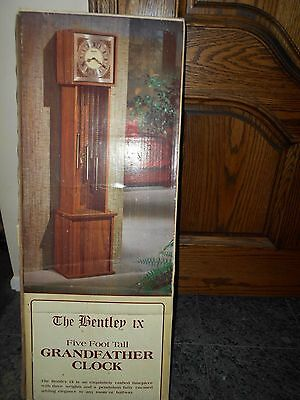 The Bentley Ix Grandfather Clock..nib...sealed/unopened