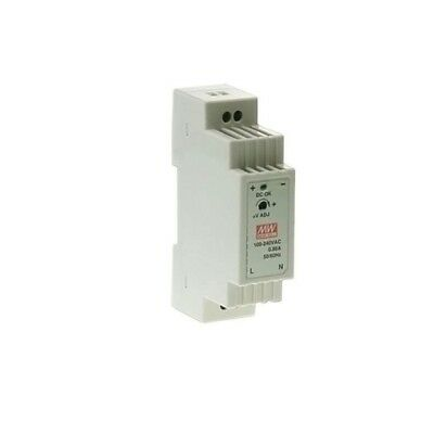 DR-15-5 Pwr sup.unit pulse 12W 5VDC 2.4A 85÷264VAC 120÷370VDC 100g MEANWELL