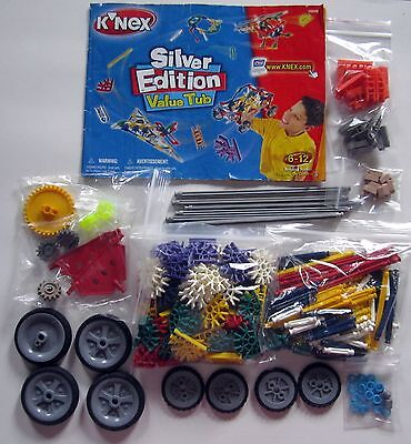 Complete Silver Edition K'nex Value Tub With Instructions 2003