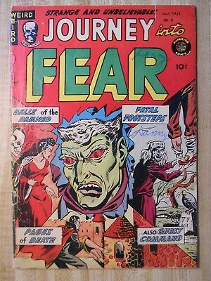 Journey Into Fear #8 (Gd/vg) (3.0) 1952
