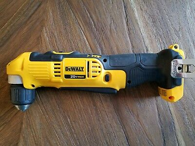 Dewalt DCD740 angle drill used one time