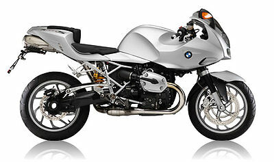 Bagster Bmw R1200S 2006-2009 Light Grey Tank Cover Baglux Tank Protector 1526C