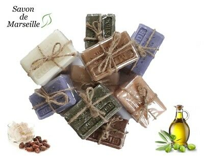 Savon De Marseille Argan/Olive/Palm Oil /Shea Butter Organic Natural French Soap