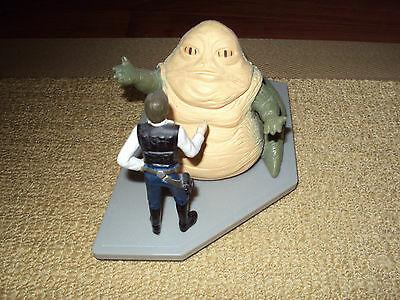 Star Wars, Applause, Jabba The Hutt With Han Solo Figure, Excellent Condition