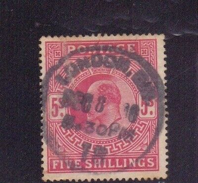 ! Great Britain 1902-1910. Stamp. YT#119. €160.00 !