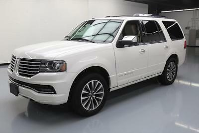 2016 Lincoln Navigator Select Sport Utility 4-Door 2016 LINCOLN NAVIGATOR SELECT 4X4 ECOBOOST NAV DVD 47K #L04177 Texas Direct Auto