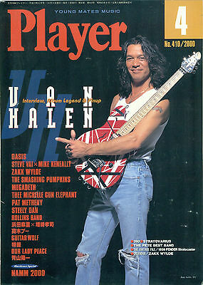 Van Halen David Lee Roth - Clippings From Japanese Magazine Player April 2000