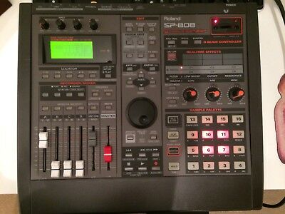 Roland Sp 808 upgraded to EX ROM 1.0 with 250mb Zip.