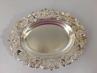 Lot Of 4 Silver Plated Serving Dishes
