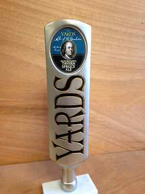 Yards Brewing Company Poor Richard's Tavern Spruce Ale Tap Handle NEW & F/S 12""