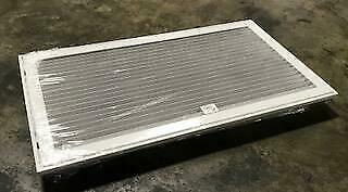 "Lima S90Hff-30 X 16 Wht/001502 16""x30"" Steel Bar Horizontal Filter Grille"
