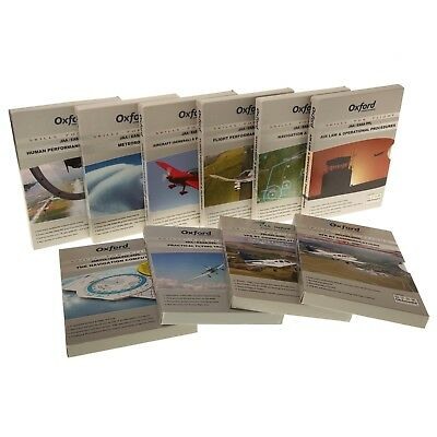 10 Oxford Aviation Training's PPL CD-ROMS for Flying Ground Training Exams