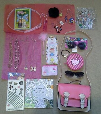 Girls accessory bundle (bag, necklaces, sunglasses, BNWT and used)