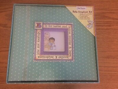 Baby Album/Scrapbook with pages and stickers