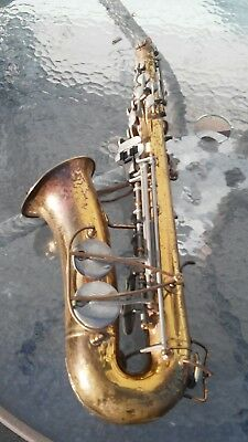 Bundy Selmer Saxophone serial no 445503 for parts not working