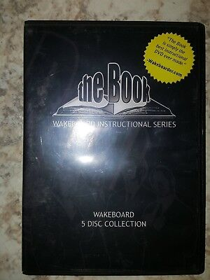 The Book Wakeboard Instructional DVD set