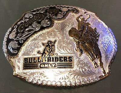 Bull Riders Only Buckle - Excellent Condition